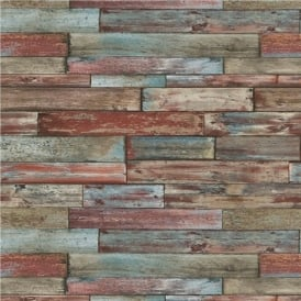 Erismann Authentic Wood Panel Wallpaper 7319-06