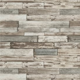 Erismann Authentic Wood Panel Wallpaper 7319-10