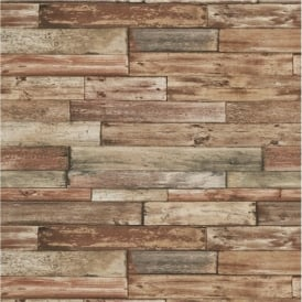 Erismann Authentic Wood Panel Wallpaper 7319-11