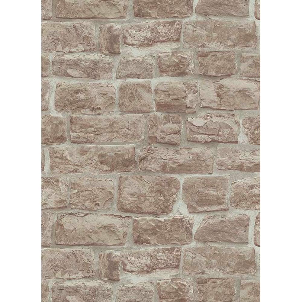 Erismann brix brick pattern wallpaper faux stone effect realistic textured 5818 11
