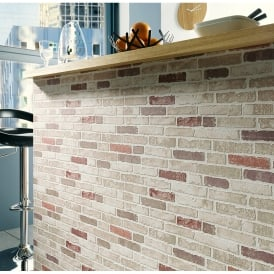Erismann Brix Brick Wall Pattern Faux Effect Wallpaper 6703-13