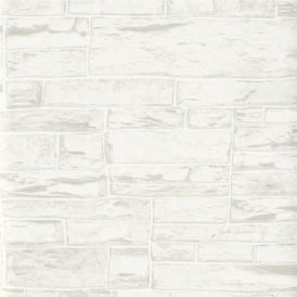 Erismann Brix Uneven Stone Wall Wallpaper 6712-02