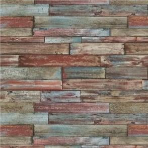 Erismann Authentic Wood Panel Wallpaper 7319-06