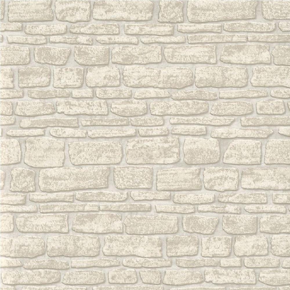 Erismann brix castle stone wall brick textured vinyl for Wallpapered walls