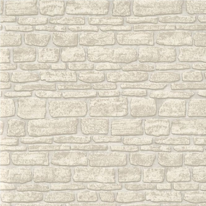 Erismann Brix Castle Stone Wall Wallpaper 6704 02