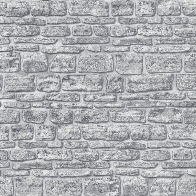 Erismann Brix Castle Stone Wall Wallpaper 6704 10