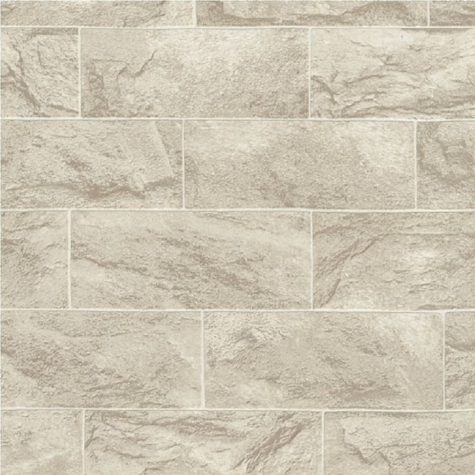 Erismann Brix Rectangular Stone Block Wallpaper 6706 02