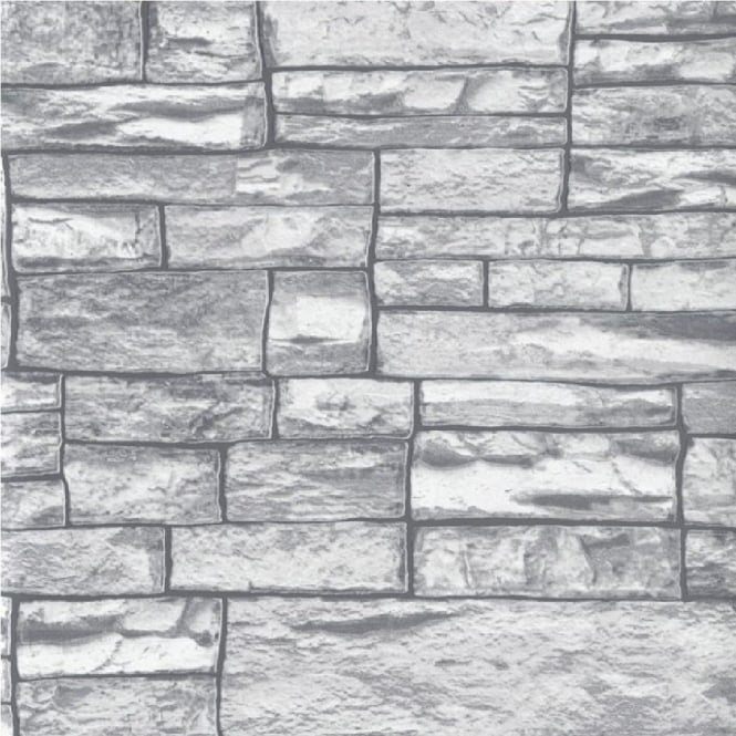 Erismann Brix Uneven Stone Wall Wallpaper 6712 10