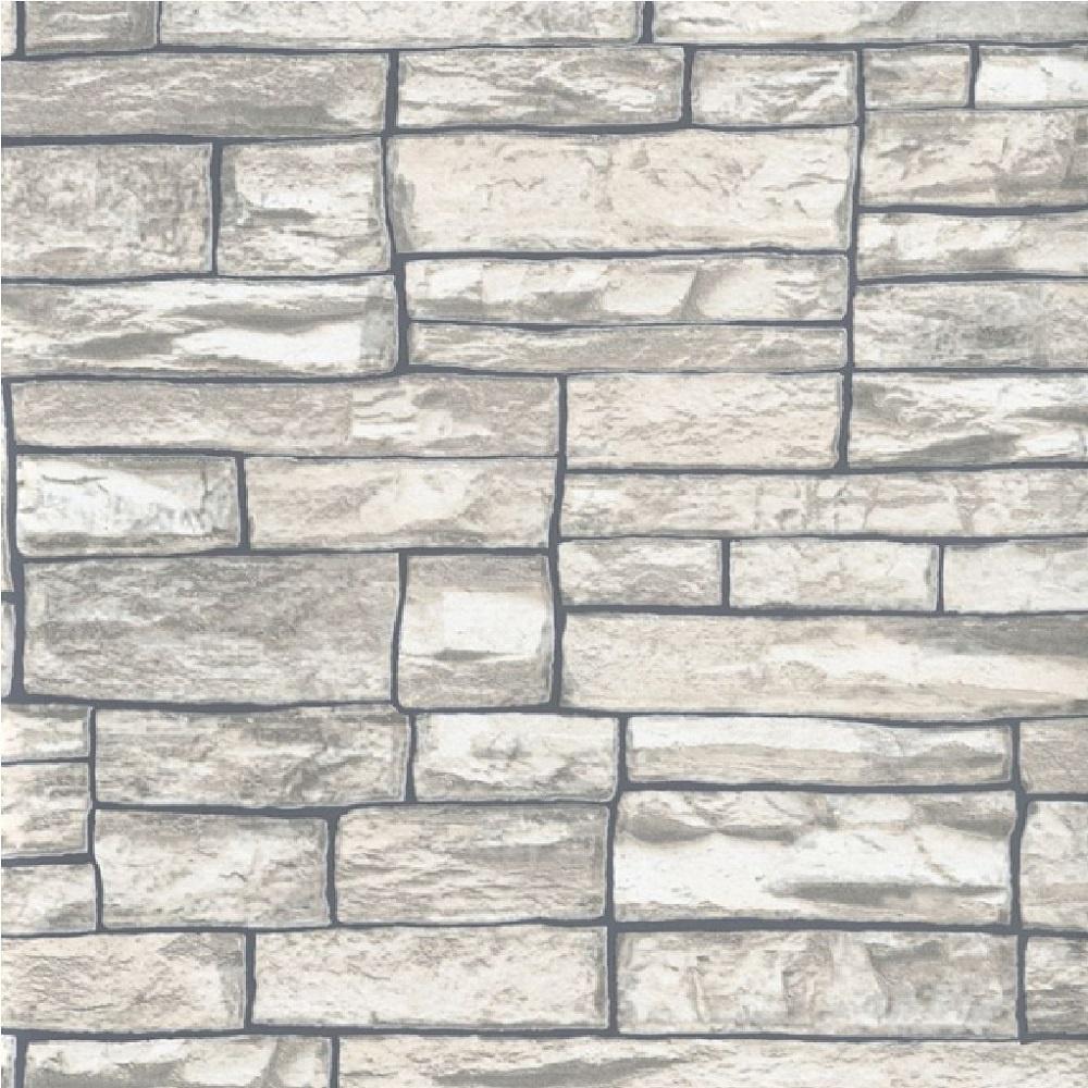 Stone Wall Paper erismann brix uneven stone wall brick textured wallpaper 6712-11