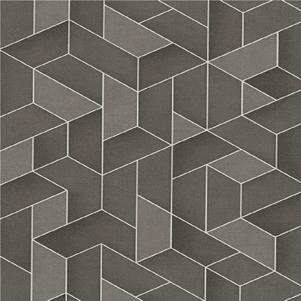 Erismann levante 3d geometric textured embossed vinyl for 3d wallpaper for home wall uk