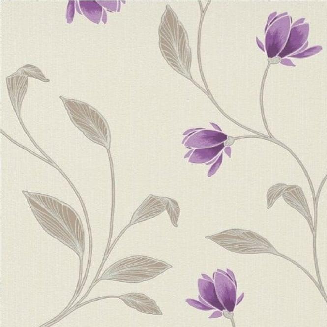 Erismann Magnolia Floral Wallpaper 9662 09