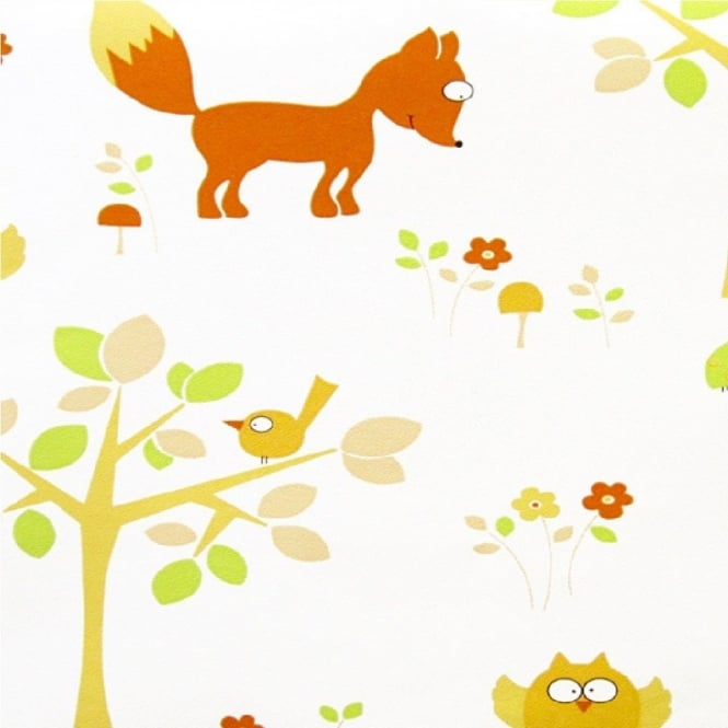 Erismann Fantasia Animals Wallpaper 7296-02