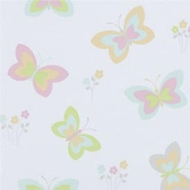 Erismann Fantasia Butterflies Wallpaper 7298-07