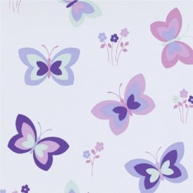 Erismann Fantasia Butterflies Wallpaper 7298-45
