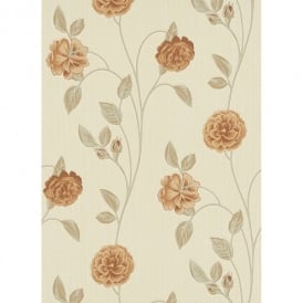 Erismann Floresco Floral Rose Luxury Blown Vinyl Textured Glitter Wallpaper 9705-11