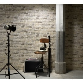 Erismann House Brick Pattern Wallpaper Faux Effect Realistic Embossed 6939-20