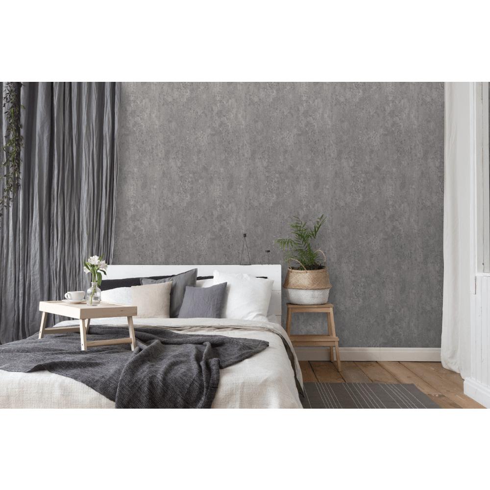 Erismann Plain Concrete Slate Effect Non Woven Modern Wallpaper 6321 10