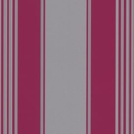 Erismann Regal Large Striped Metallic Luxury Embossed Textured Vinyl Wallpaper 9699-29