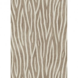 Erismann Sambesi Zebra Stripe Animal Print Luxury Textured Wallpaper 5905-33