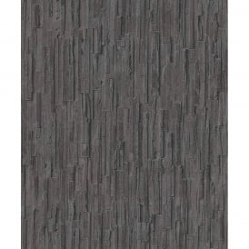 Erismann Slate Pattern Wallpaper Realistic Stone Faux Effect Embossed Stripe 6940-15