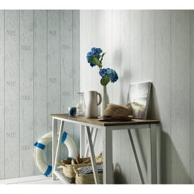 Erismann Wood Beam Pattern Wallpaper Panel Stripe Realistic Embossed Motif 6944-10