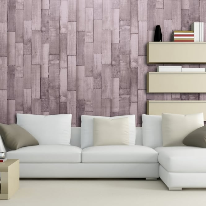 Arthouse Exclusive Driftwood Panel Pattern Wood Faux Effect Wallpaper 666602