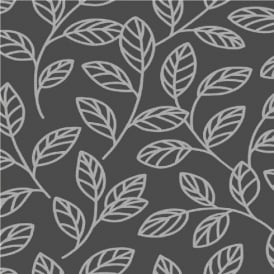 Fine Decor Decorline Sparkle Leaf Wallpaper DL40201