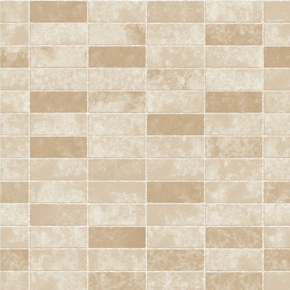 Fine decor ceramica stone tile slate brick effect for Tile effect bathroom wallpaper