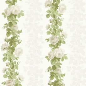 Fine Decor Heritage Floral Stripe Wallpaper FD40164