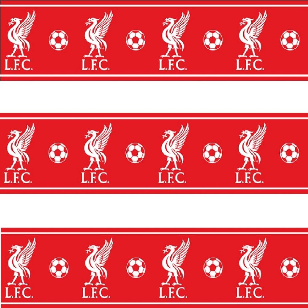 Liverpool LFC Childrens Kids Football Wallpaper Border