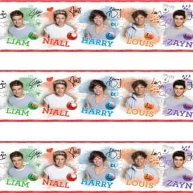 One Direction Wallpaper Border