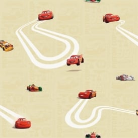 Galerie Official Disney Cars Lightning McQueen Childrens Wallpaper CR3005-2