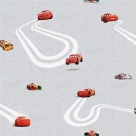 Galerie Official Disney Cars Lightning McQueen Childrens Wallpaper CR3005-3