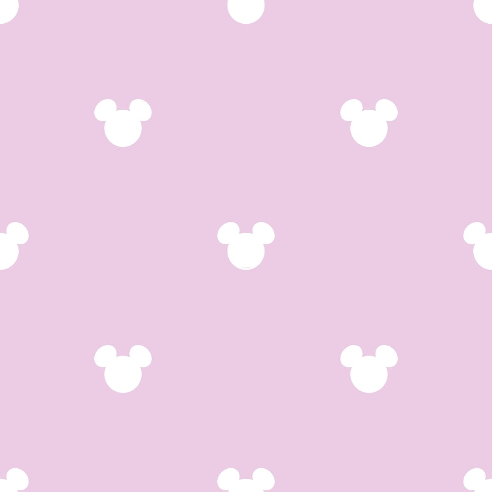 Galerie Official Disney Mickey Mouse Logo Pattern Cartoon Childrens Wallpaper Mk3015 4 Pink I Want Wallpaper