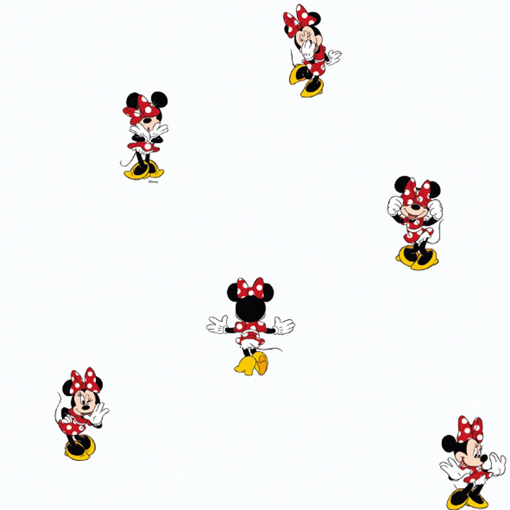 galerie official disney minnie mouse childrens bedroom washable