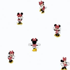 Galerie Official Disney Minnie Mouse Childrens Bedroom Washable Wallpaper MN3002-1