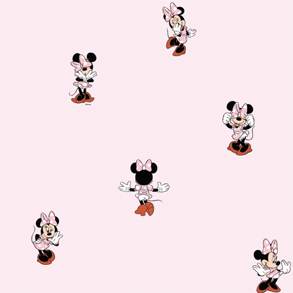 disney wallpaper for bedrooms. galerie official disney minnie mouse childrens bedroom washable wallpaper mn3002-3 for bedrooms