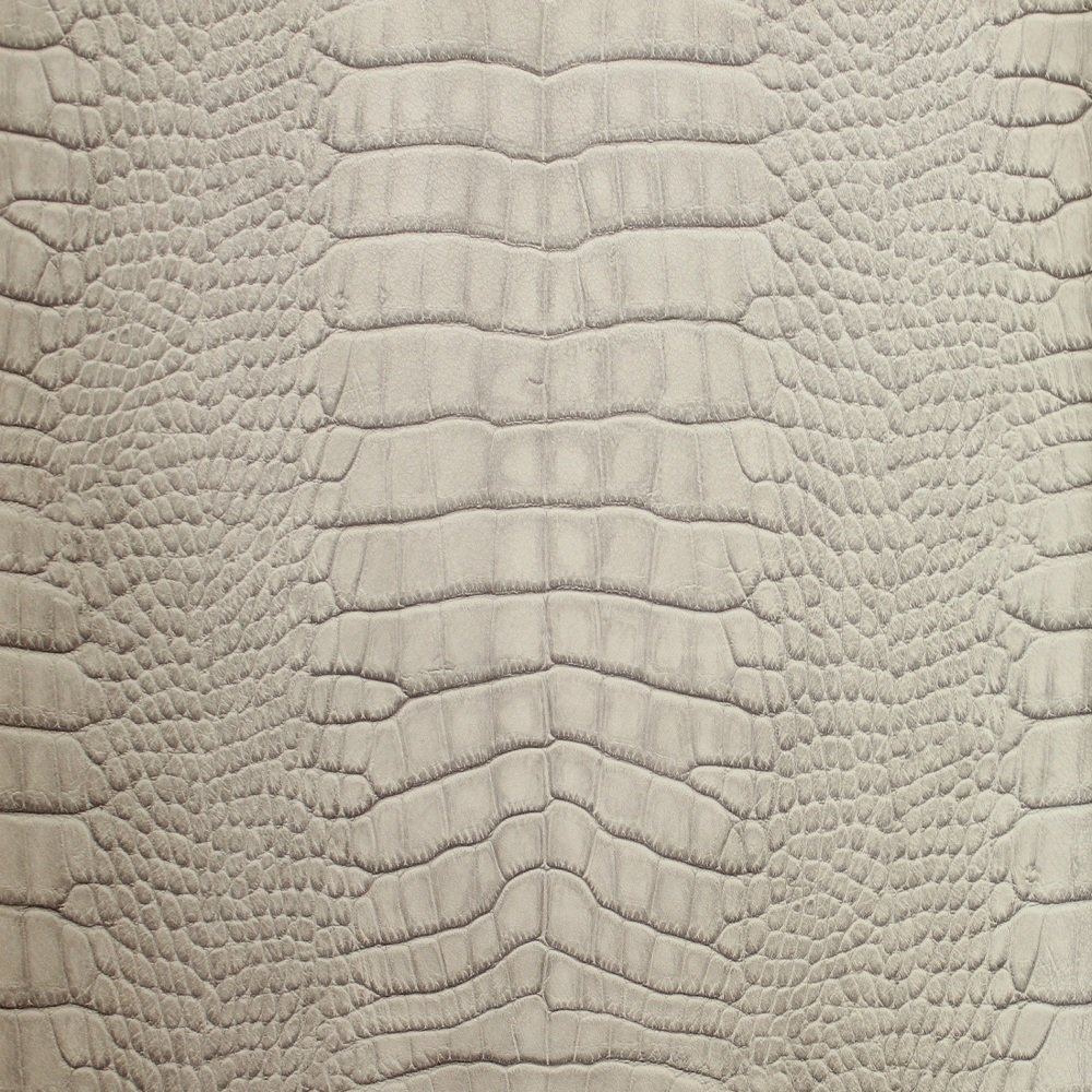 galerie natural faux alligator skin print wallpaper taupe
