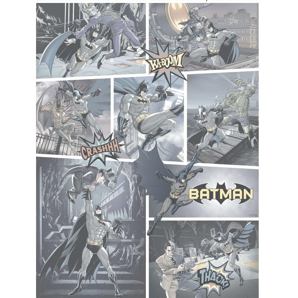 Galerie Official Batman Comic Strip Pattern Dc Joker
