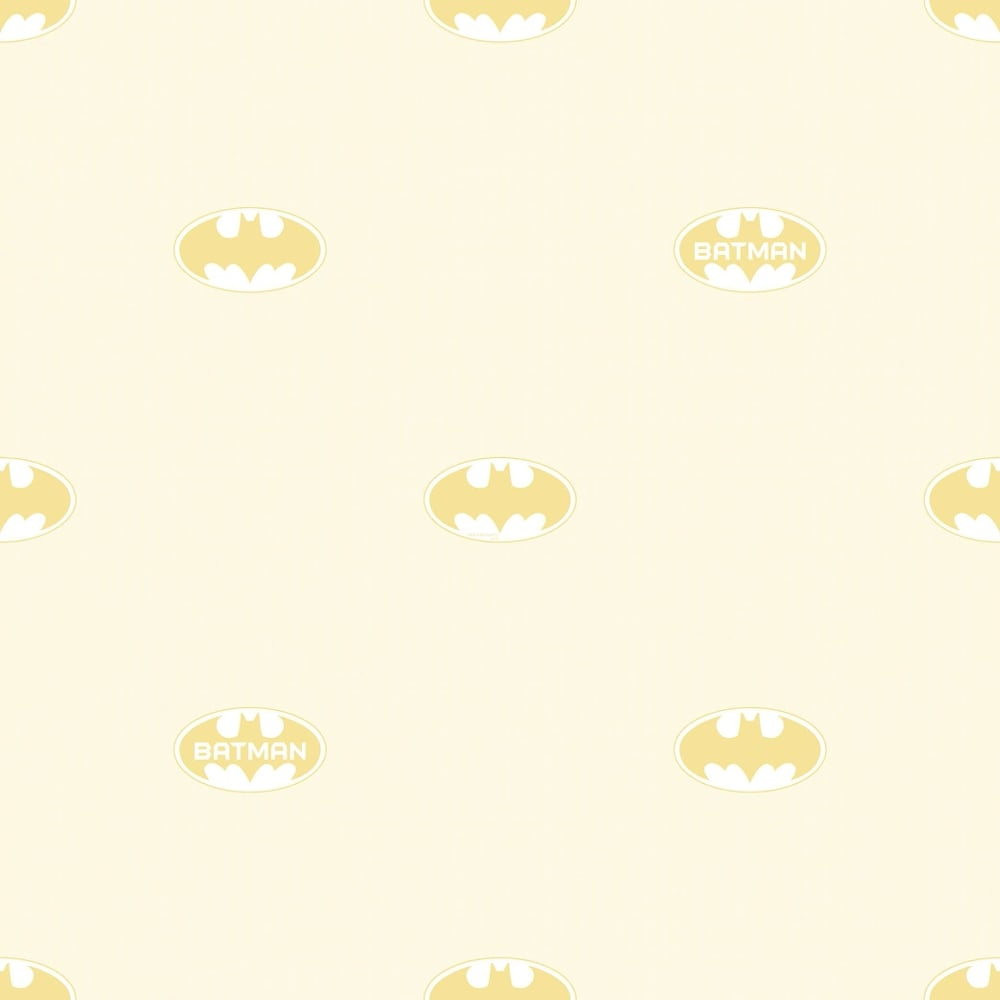 Galerie Official Batman Logo Bat Symbol Pattern DC Comics Childrens Wallpaper BT9004 3