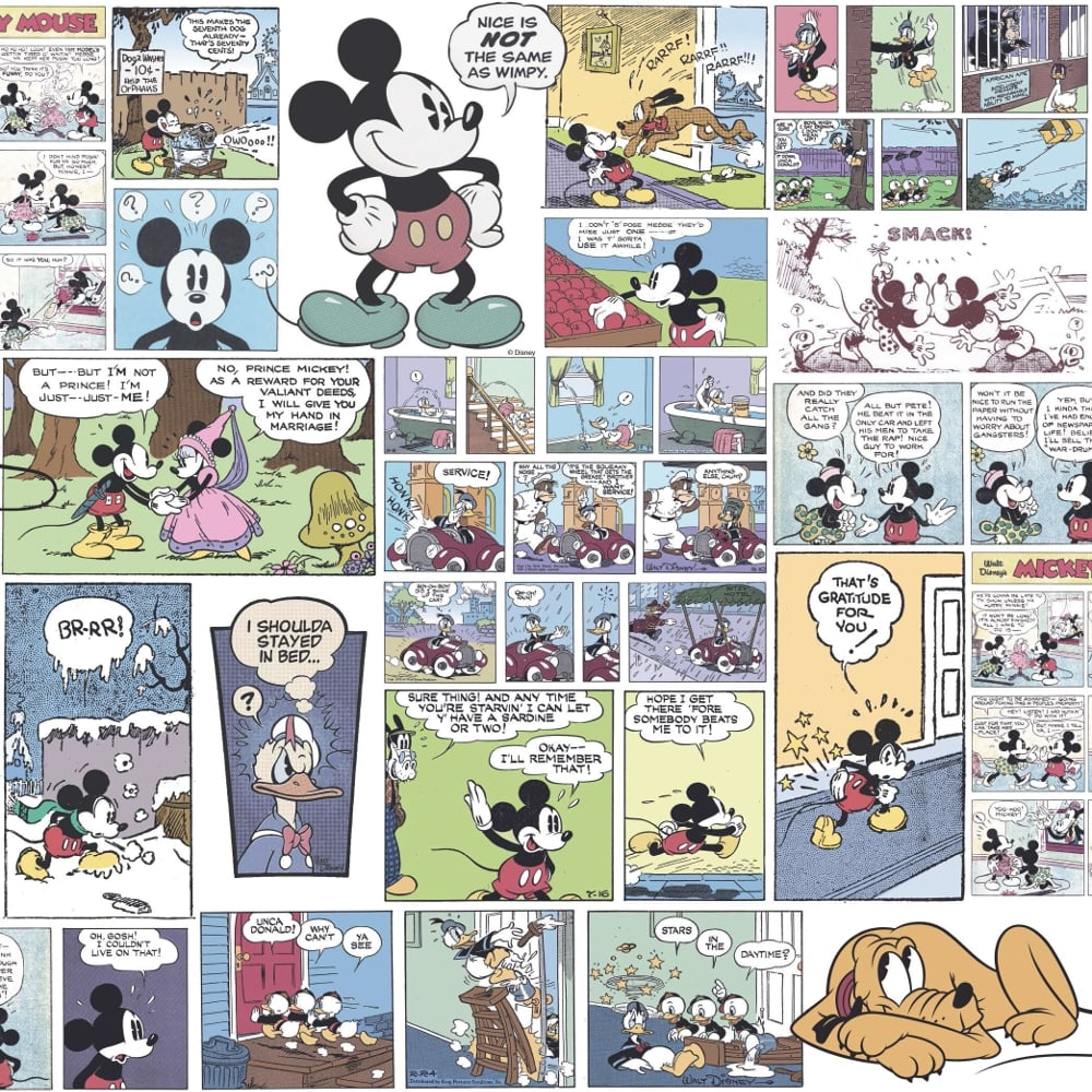 Free Comic Book Day Wallpaper: Galerie Official Disney Mickey Minnie Donald Duck Comic
