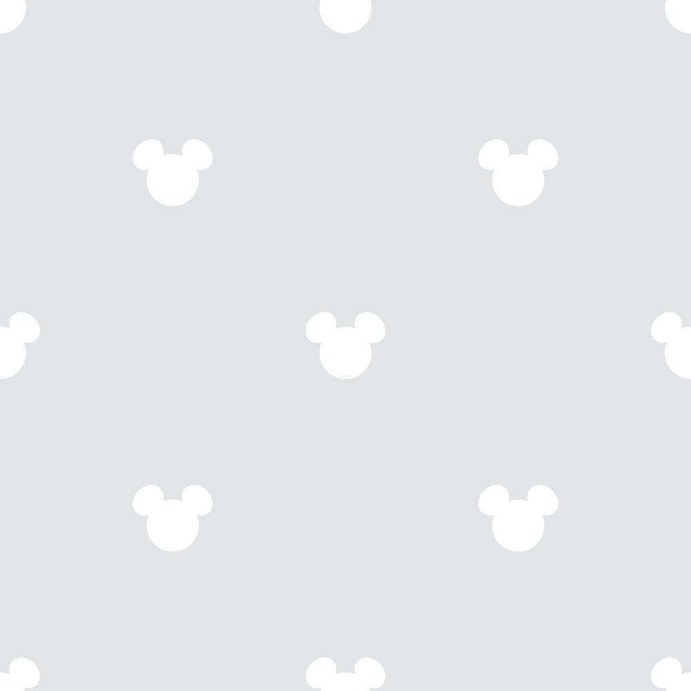 Galerie Official Disney Mickey Mouse Logo Pattern Cartoon Childrens Wallpaper MK3015-5
