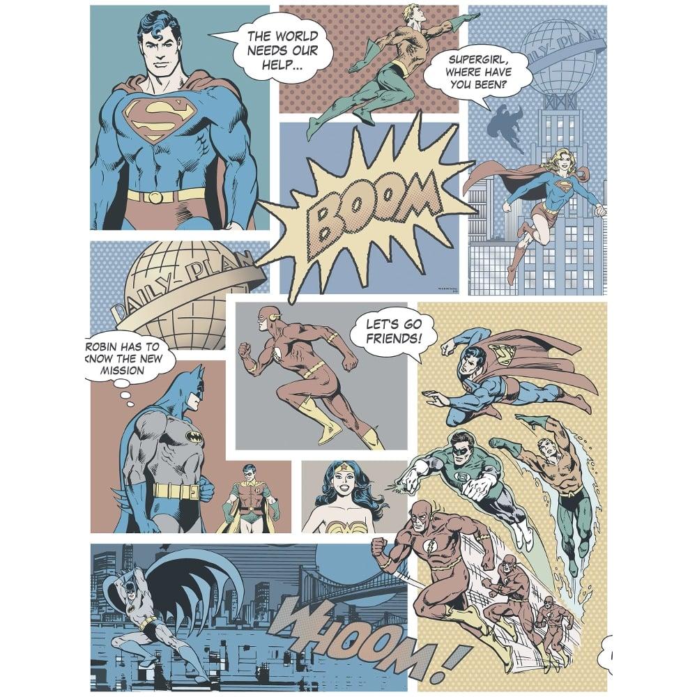 Galerie Official Superman Batman Flash Comic Superhero Childrens