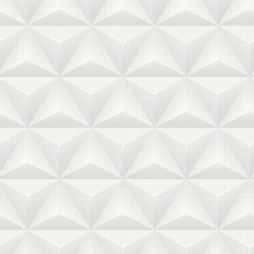 Galerie Unplugged Triangle Spots Pattern Geometric Metallic Vinyl