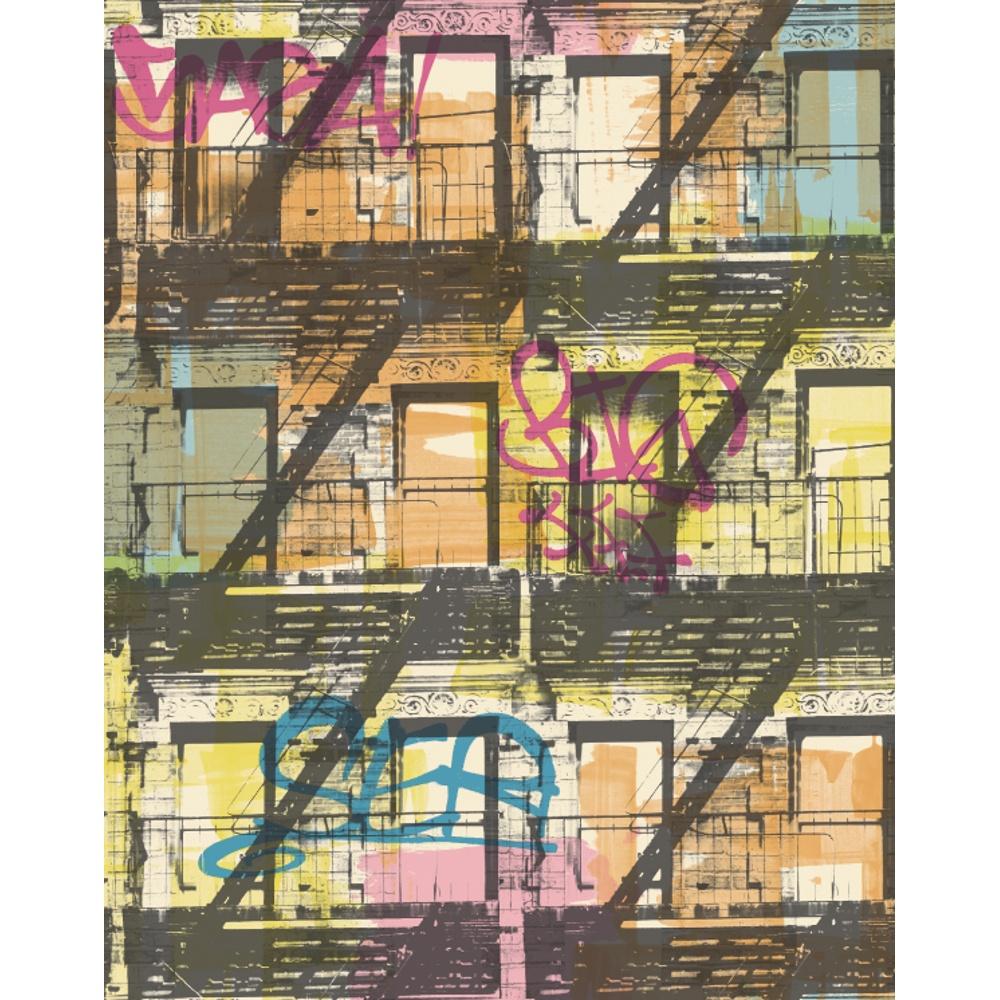 Galerie Yolo New York Pattern Graffiti Motif Teenager