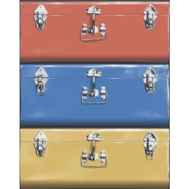 Galerie Yolo Suitcase Luggage Pattern Retro Americana Travel Wallpaper 5005-1