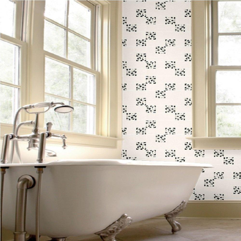 Tiled Wallpaper For Bathrooms: Graham & Brown Mosaic Tile Kitchen Bathroom Vinyl