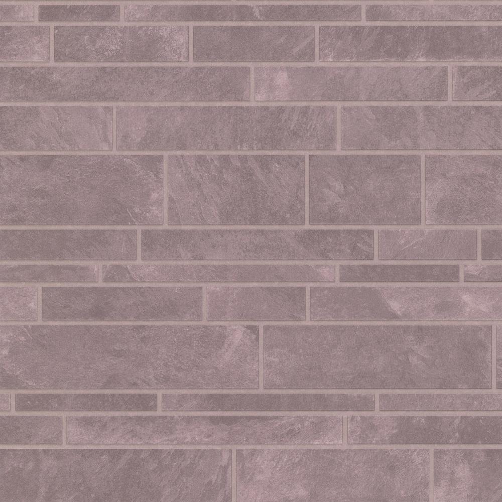 Graham Brown Contour Beige Natural Stone Tile Kitchen: Graham & Brown Contour Slate Tile Grey Stone Brick Effect