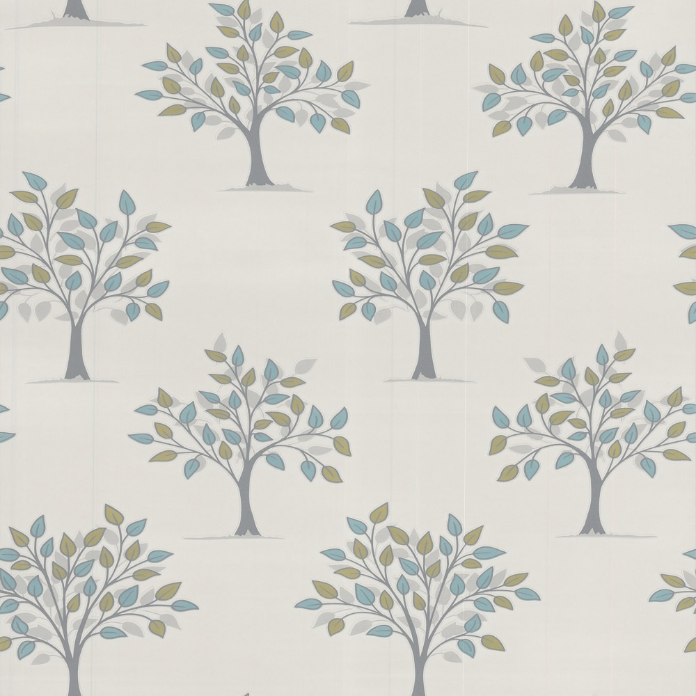 Graham brown willow tree motif kitchen bathroom vinyl for Graham and brown bathroom wallpaper