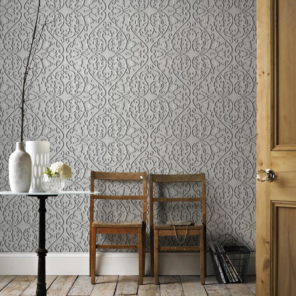 graham brown heart tulip motif wood 3d pattern. Black Bedroom Furniture Sets. Home Design Ideas